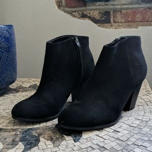 EUC Black old navy booties